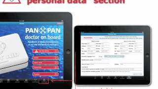 "Tutorial ""Doctor on board"" for iPad"