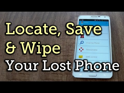 Find, Lock, & Wipe Your Missing Android Phone with Theftie [How-To]