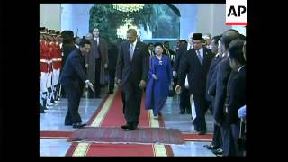 WRAP President Obama arrives in Jakarta ADDS meeting Yudhoyono