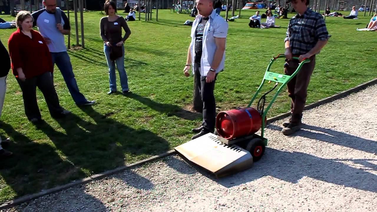 D sherbeur thermique propane youtube - Desherbeur thermique campingaz ...