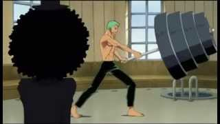 Funny One Piece - Brook and Zoro [Engsub]