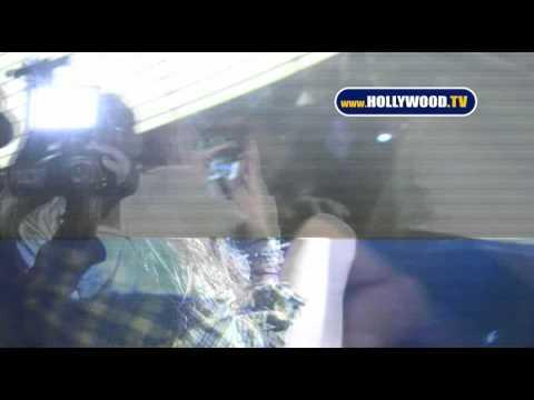 Lindsay Lohan Leaves Playhouse Saturday Night