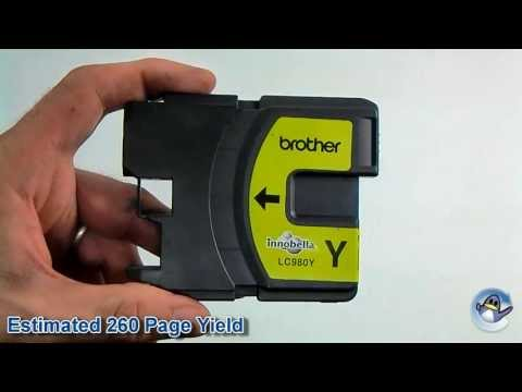 Inside Brother LC980Y Yellow Ink Cartridge