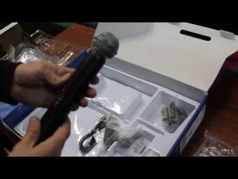 Радиосистема Shure SLX 24 Shure Beta 58A радио микрофон обзор