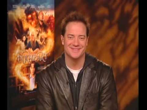 Brendan Fraser talks to Laff at the Movies