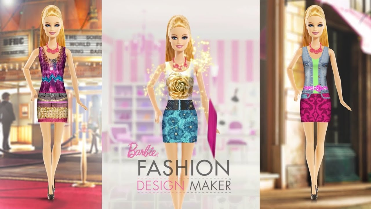 Free Barbie Fashion Designer Games Barbie Fashion Design Maker