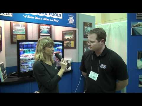 Aqua Blue Pools interview at the 2012 Charleston Home + Design Show