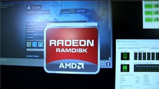 AMD Radeon RAM Disk Featuring 64GB G.Skill RipjawsZ Linus Tech Tips