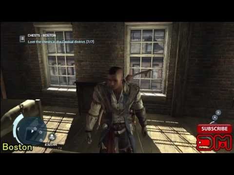 Assassin's Creed 3 All Treasure Locations