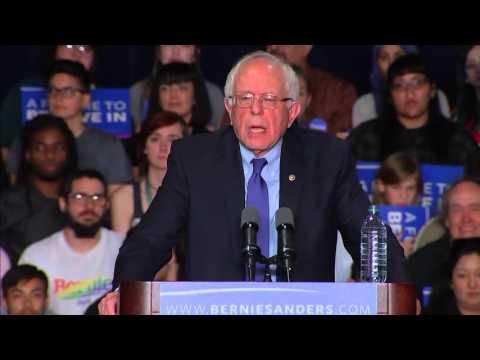 Watch Bernie Sanders speak after March 15 primary contests