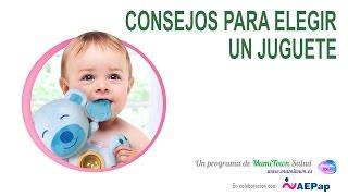 Consejos para elegir los juguetes para bebés y niños