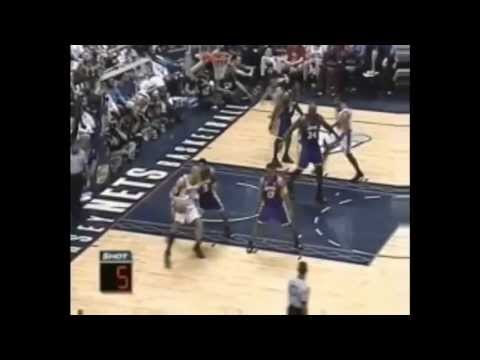 Kenyon Martin 26 points vs. Los Angeles Lakers (June 9, 2002)