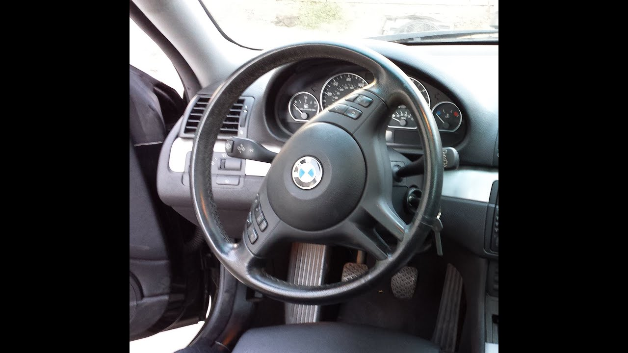 Steering Wheel Round Airbag Removal M3 M5 540i