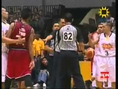 Ronald Tubid Vs Jimmy Alapag video