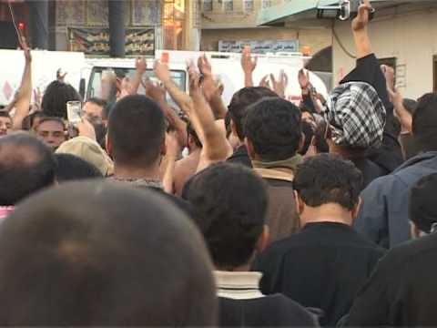Wailing Shiite pilgrims throng holy Iraq city