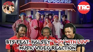 "BTS feat. Halsey ""Boy With Luv"" Music Video Reaction"