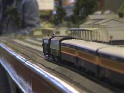 Train Model in HO Scale Video