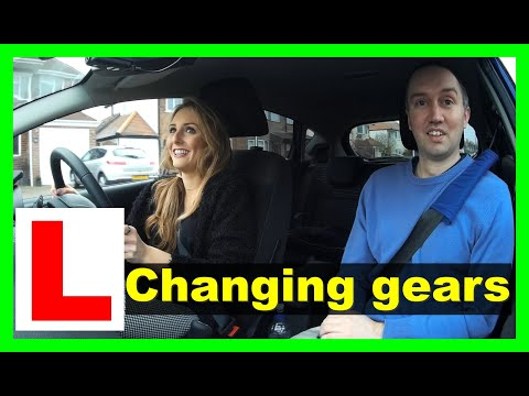 Changing up gears - Emma's driving lessons
