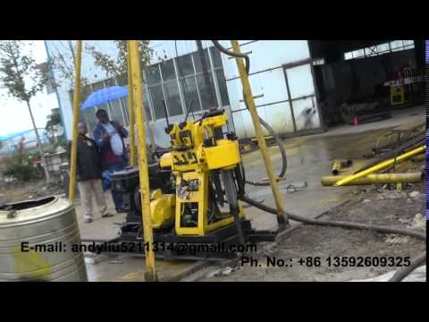 hydraulic drilling rig video 08 for upload