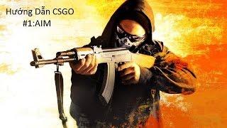 Hướng Dẫn CSGO #1:Aim và làm quen với súng
