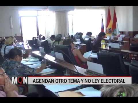 29/10/2014 18:53 AGENDAN OTRO TEMA Y NO LEY ELECTORAL