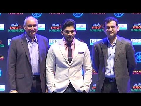 Star Sports Pro Kabaddi League signs Allu Arjun as brand ambassador Photo Image Pic