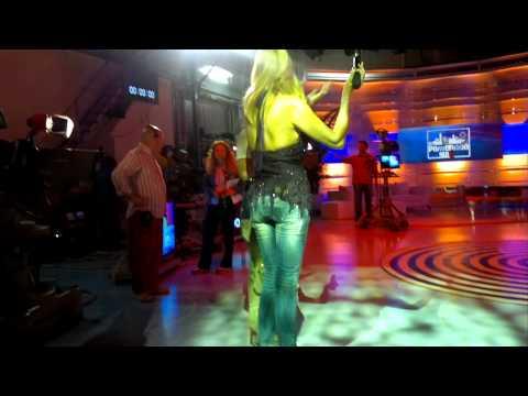 STEFANIA ORLANDO backstage