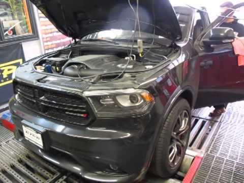 2014 Dodge Durango R T 5 7 Hemi Dyno Test Youtube
