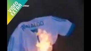 Cristiano Ronaldo bị Fan đốt áo gây xôn xao cộng đồng mạng - BongDaSong