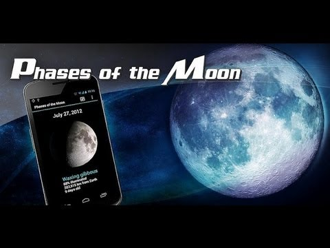 Phases of the Moon App for Android