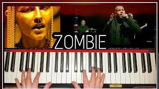 Download Lagu ZOMBIE BAD WOLVES PIANO W/ LESSON COVER Gratis STAFABAND