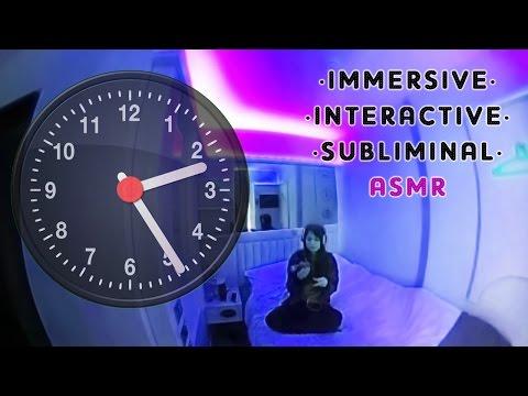 ASMR 360° Viaggio temporale PSICHEDELICO con 15 MESSAGGI SUBLIMINALI!