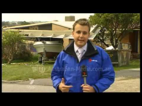 TVW Seven News Perth - Storm coverage (July 18, 2008)