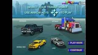 Transformers Race Machines Gameplay