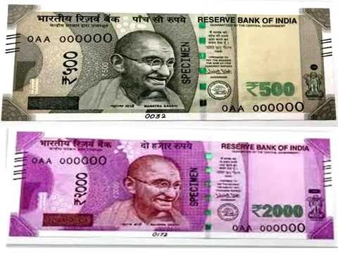 new 2000 rupee note / new 2000 rs note youtube