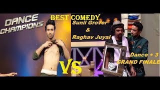 Raghav Juyal Best Comedy Video || Grand Finale Dance Plus 3 || BEST OF BEST||