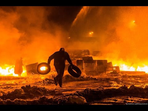 UKRAINE PROTEST RIOT COMPILATION.