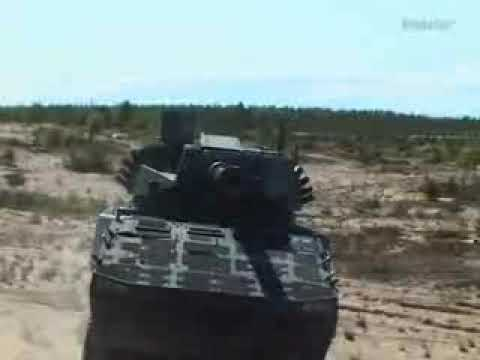 The Finnish Patria AMV (Armored Modular Vehicle)