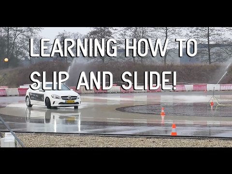 Learning How To Slip & Slide!