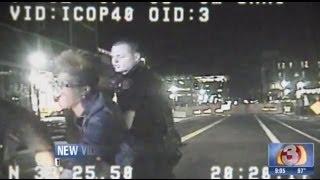 Dash Cam Footage Of Cop Assaulting Female Professor