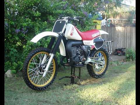 yz490 J  First Ride