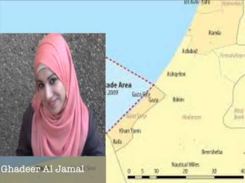 Living Under Siege in Gaza!! Ghadeer Al Jamal