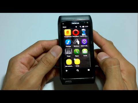 Review Symbian Belle en un Nokia N8 en Español (HD)