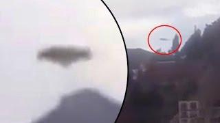 Graban un enorme OVNI sobre Bolivia