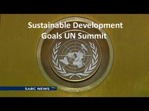 UN Summit on Sustainable Development Goals : 25 September 2015