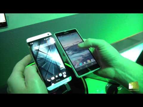 Comparativa HTC One vs Sony Xperia Z en español   FAQsAndroid.com