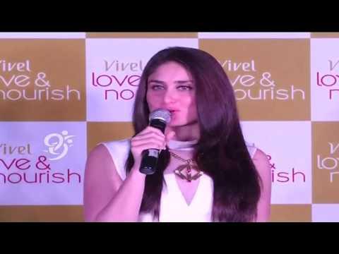 Kareena Kapoor at Launch of Vivel Love & Nourish Skin Nourishing range - 99tv