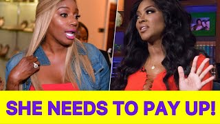 RHOA NEWS! Kenya Moore Talks Return To RHOA And Says Nene Leakes Needs To Pay Up!