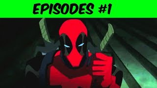 Deadpool #1 Cartoons For Boys And Gilrs