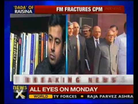 CPM leader Prosenjit quits over support to Pranab - NewsX